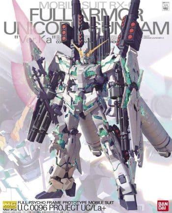 Master Grade RX-0 Full Armor Unicorn Gundam Ver. Ka Box