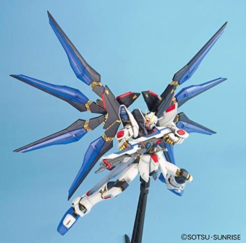 Master Grade Strike Freedom Gundam Pose 3