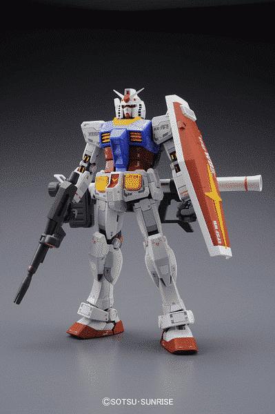 Master Grade RX-78-2 Gundam Version 3.0 Pose 1