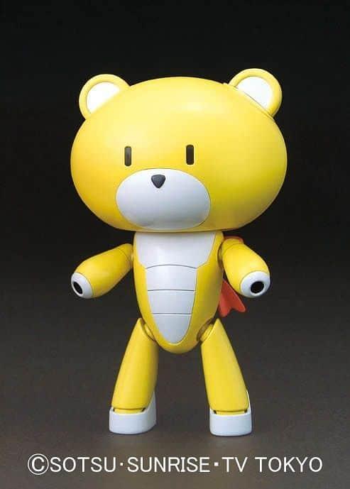 Gundam Petit'Gguy Winning Yellow Pose 1
