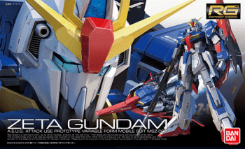 Real Grade Gundam Zeta Box