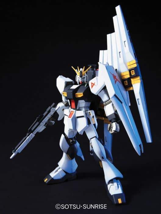 High Grade RX-93 Nu Gundam Pose 1