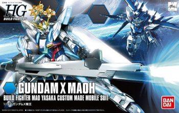 High Grade Gundam X Maoh Box