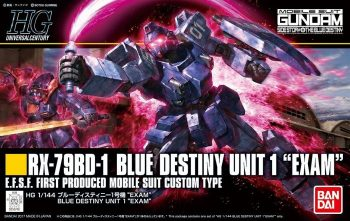 High Grade Blue Destiny Unit 1 Exam Box