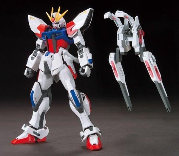 Star Build Strike Gundam Plavsky Wing Pose 2