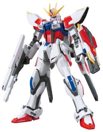 Star Build Strike Gundam Plavsky Wing Pose 1