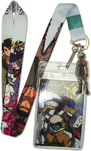 Group & Gundam Barbatos Lanyard