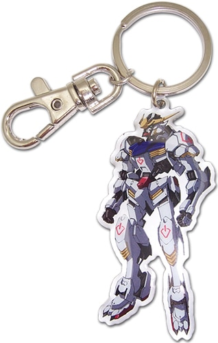 Gundam Barbatos Metal Keychain