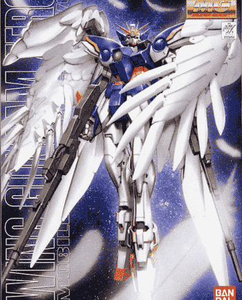Wing Gundam Zero Custom Box