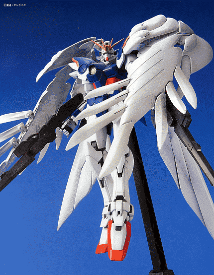 Wing Gundam Zero Custom Pose 1