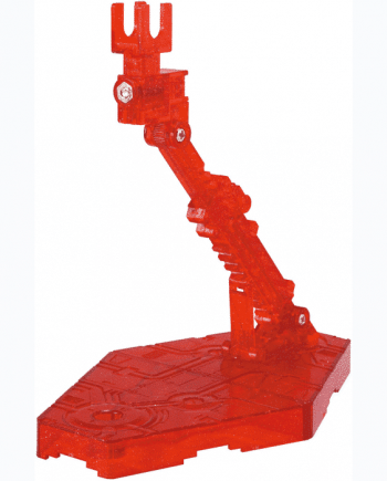 Sparkle Clear Red Action Base 2 Pose 1