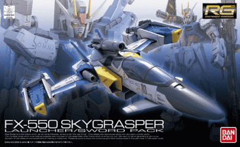 Real Grade FX550 Sky Grasper Launcher/Sword Pack Box