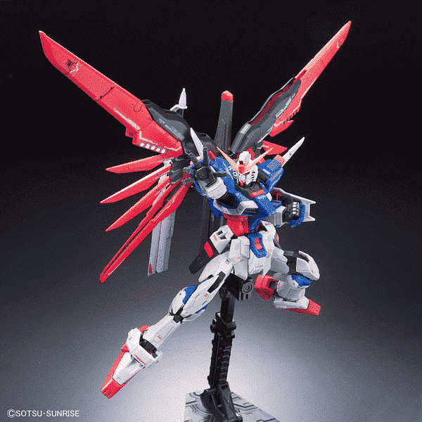 Real Grade ZGMF-X42S Destiny Gundam Pose 3