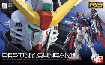 Real Grade ZGMF-X42S Destiny Gundam Box