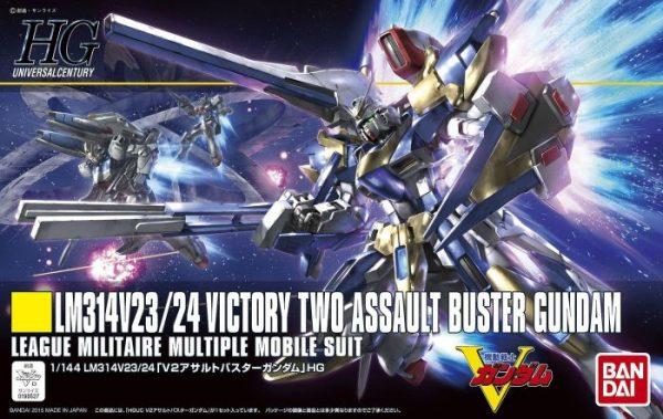 V2 Assault Buster Gundam Box