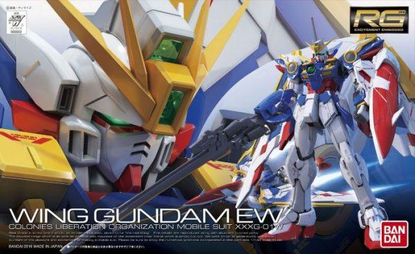 Real Grade XXXG-01W Wing Gundam Box