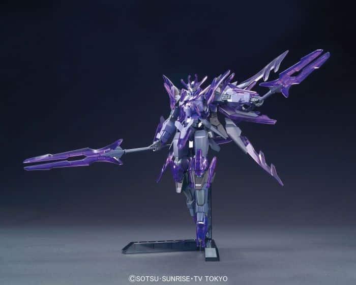 Transient Gundam Glacier Pose 2