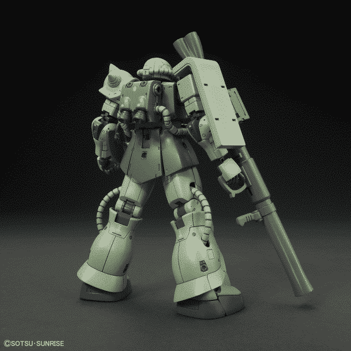 1/144 High Grade Zaku II Type C/Type C-5 Pose 2