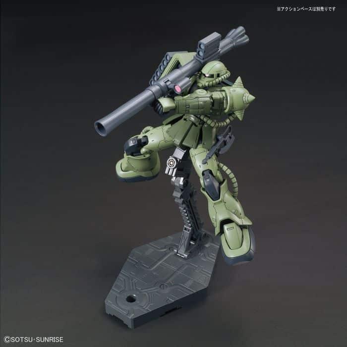 1/144 High Grade Zaku II Type C/Type C-5 Pose 3