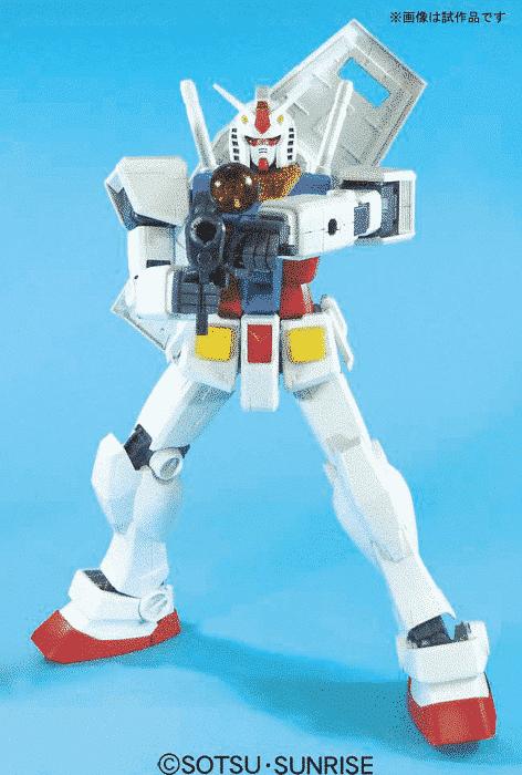 Mega Size Gundam Rx-78-2 POse 3