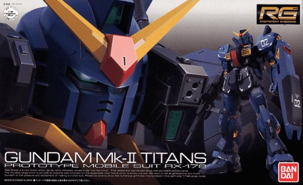 Real Grade Gundam MK-II Titans Box