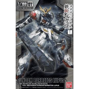 Full Mechanics 1/100 Gundam Barbatos Lupus Box