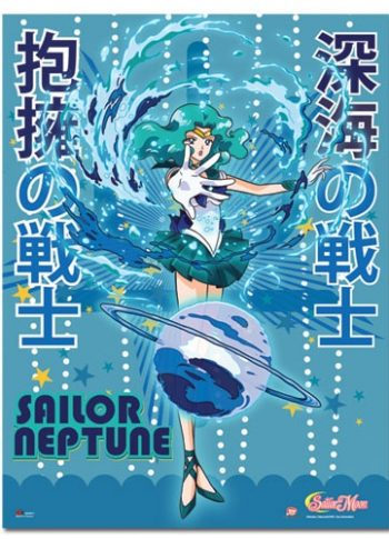 Sailor Neptune Wall Scroll