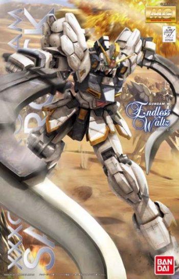 1/100 Master Grade XXXG-01SR Gundam Sandrock EW Version Box