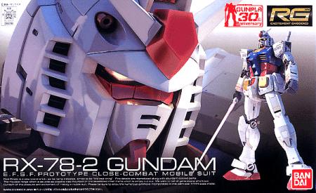 Real Grade RX-78-2 Gundam box
