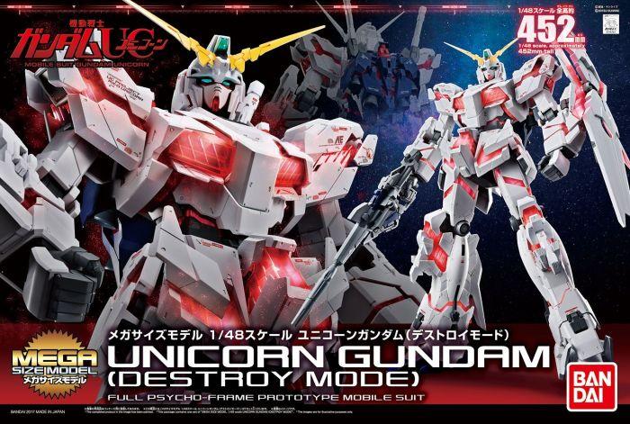 Mega Size Gundam Unicorn Box