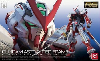 Real Grade Gundam Astray Red Frame Box