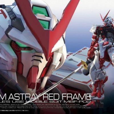 Real Grade Gundam Astray Red Frame Box