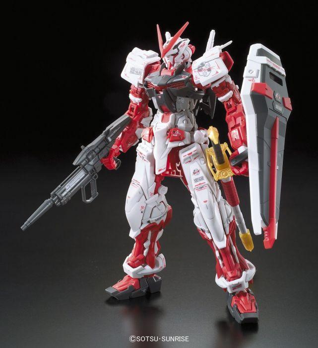 Real Grade Gundam Astray Red Frame Pose 1
