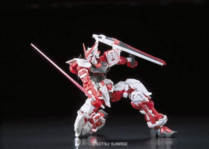 Real Grade Gundam Astray Red Frame Pose 2