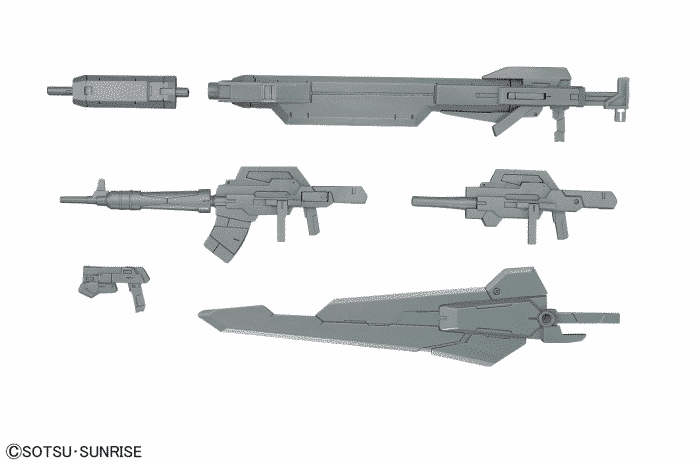 24th Century Weapons Pose 1