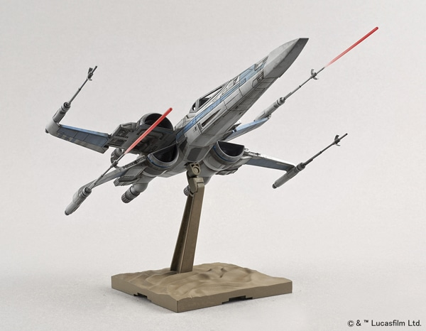 Blue Squadron Resistance X-Wing Fighter Pose 1