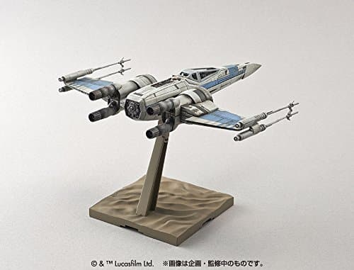 Blue Squadron Resistance X-Wing Fighter Pose 3