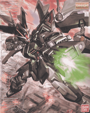 Master Grade Strike Noir Gundam Box