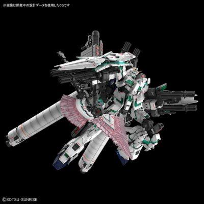 Real Grade Full Armor Gundam Unicorn Pose 1