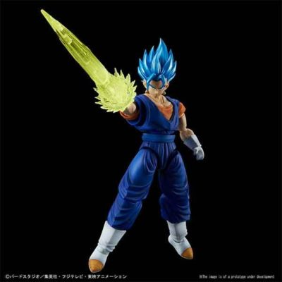 Super Saiyan Blue Vegito Figure-Rise Pose 1