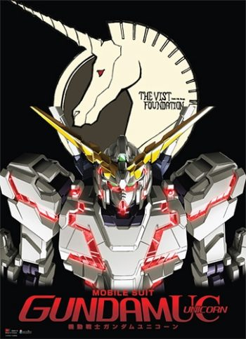RX-0 Unicorn Gundam Wall Scroll
