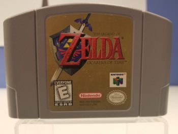 Ocarina of Time N64 Front