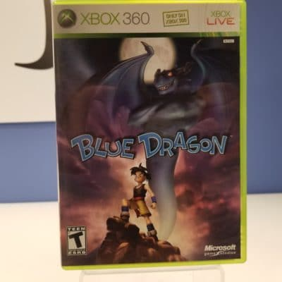 Blue Dragon Front Cover