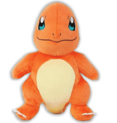 Charmander Plushie Front