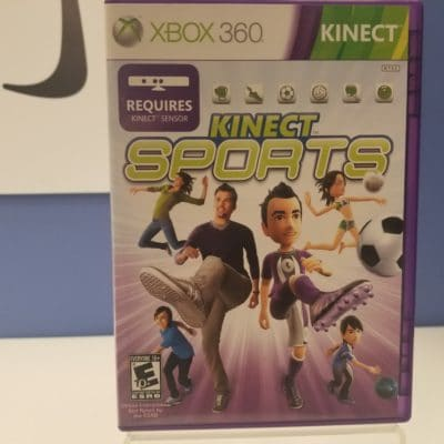 Kinect Sports Front Cover