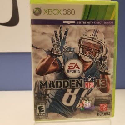 Madden NFL 13 Front Cover