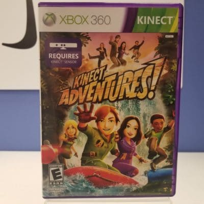 Kinect Adventures Front Cover