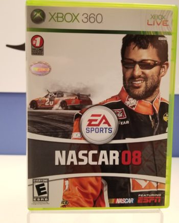 Nascar 08 Front Cover