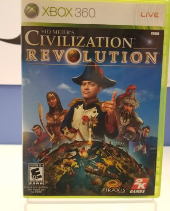 Civilization Revolution Front Cover