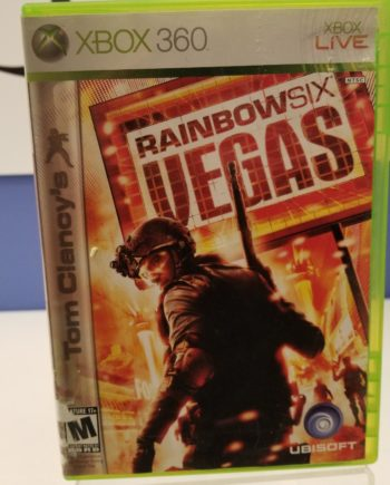 Rainbow Six - Vegas Front Cover
